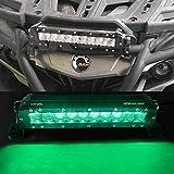 Xkglow Green 10 inch Hunting & Fishing LED Light Bar - Sp...