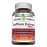 Amazing Formulas Saffron Extract (60 Vcaps) For Sale