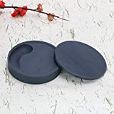 Wancetang Chinese Calligraphy Round Ink Stone for