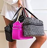PurseN Stylist Bag Travel Toiletry Makeup Case Mod Diamond
