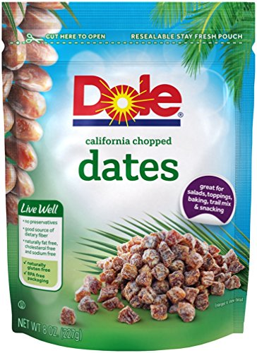 Dole California Chopped Dates, 8 Ounce