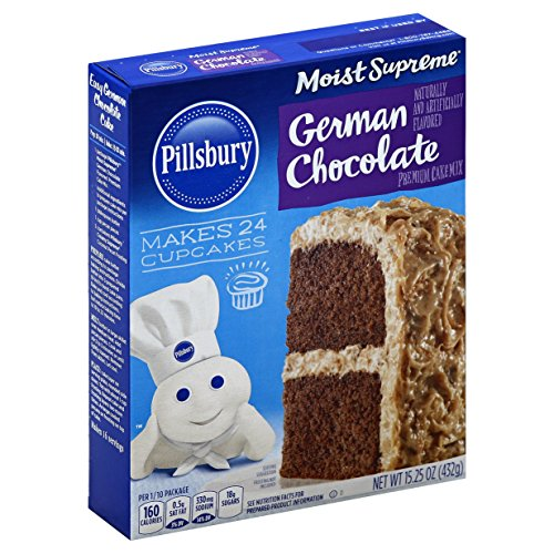 Pillsbury Cake Mix German Chocolate, 15.25 Ounce
