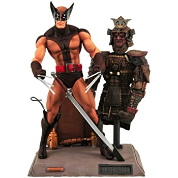 Amazon marvel select wolverine action figure toy toys games marvel select wolverine action figure voltagebd Images