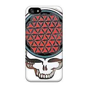 Iphone 5/5s EjD18272mKYy Allow Personal Design High Resolution Grateful Dead Band Pattern High Quality Cell-phone Hard Cover -JohnPrimeauMaurice