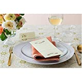 Galleon Avery Textured White Menu Cards 8 5 X 3 66 Inches Pack