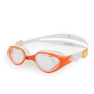 Barracuda Swimming Goggles #73155 swim glasses for 6-12 swimming glasses (Orange)