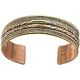 Cuff Style Healing Braid Bracelet Handmade in Nepal - Balance Natural Energy