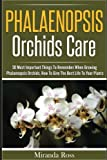 img - for Phalaenopsis Orchids Care: 30 Most Important Things To Remember When Growing Phalaenopsis Orchids (Orchids Care, Gardening Techniques) (Volume 2) book / textbook / text book