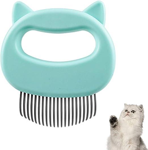Peine de masaje para mascotas, peine relajante para gatos, para eliminar el pelo y eliminar el pelo: Amazon.es: Productos para mascotas