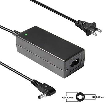 Amazon.com: Cargador de portátil de 45 W 19 V 2,37 A AC ...