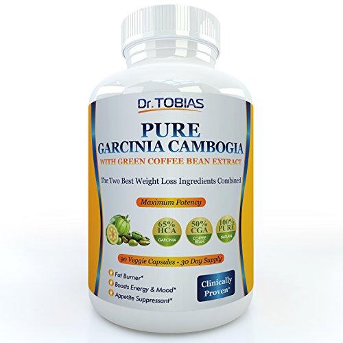 Pur Garcinia Cambogia Extrait haricots ainsi que du café vert - 90 gélules pour un réel approvisionnement de 30 jours. 65% HCA (acide hydroxycitrique) et 60% CGA (acide chlorogénique). Plus de potassium et de calcium pour une absorption optimale. Super pu