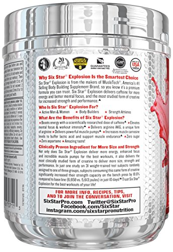 Six-Star-Pre-Workout-Explosion-Fruit-Punch-046-lbs-207g-Packaging-may-vary