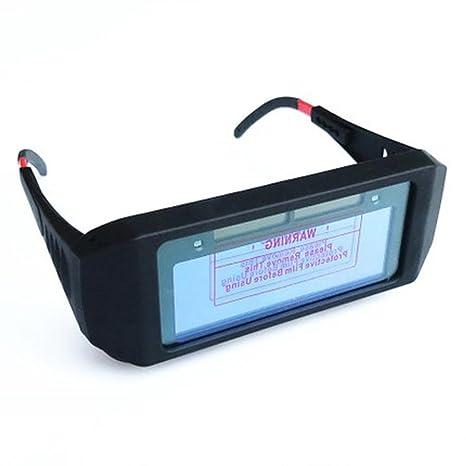 ZHIFENGLIU Gafas de protección automática Gafas de protección Gafas de Soldadura Arco de argón Soldador protección