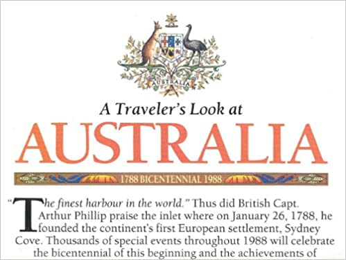 Australia 1:8, 044, 000 Map (Travelers Look At...) National Geographic, 1988: National Geographic: 9788022421515: Amazon.com: Books