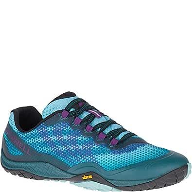Merrell Trail Glove 4 Shield Hiking Shoe - Women's Blue Size: 5