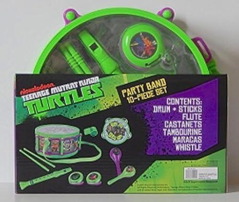 Amazon.com: Teenage Mutant Ninja Turtles Party Band 10 Piece ...