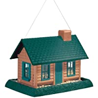 North States Village Collection Grand Style Birdfeeder-Large Log Cabin