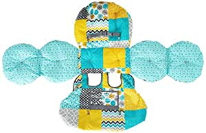 Infantino Unisex Baby Upright Travel Necessities Supportive Cart Cover, Teal
