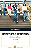 Steps for Writers : Composing Essays, Volume 2 Plus MyWritingLab with Pearson EText -- Access Card Package, Eggers, Phillip, 0134016750