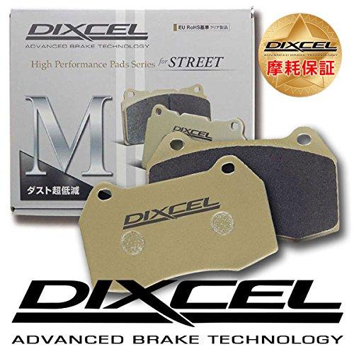 DIXCEL ディクセル ブレーキパッド Mタイプ リア用 フィアット(500/500C/500S チンクチェント ABARTH 500 312141/312142 11/06~ ESSEESSE(エッセエッセ)含む) B0773B15W1