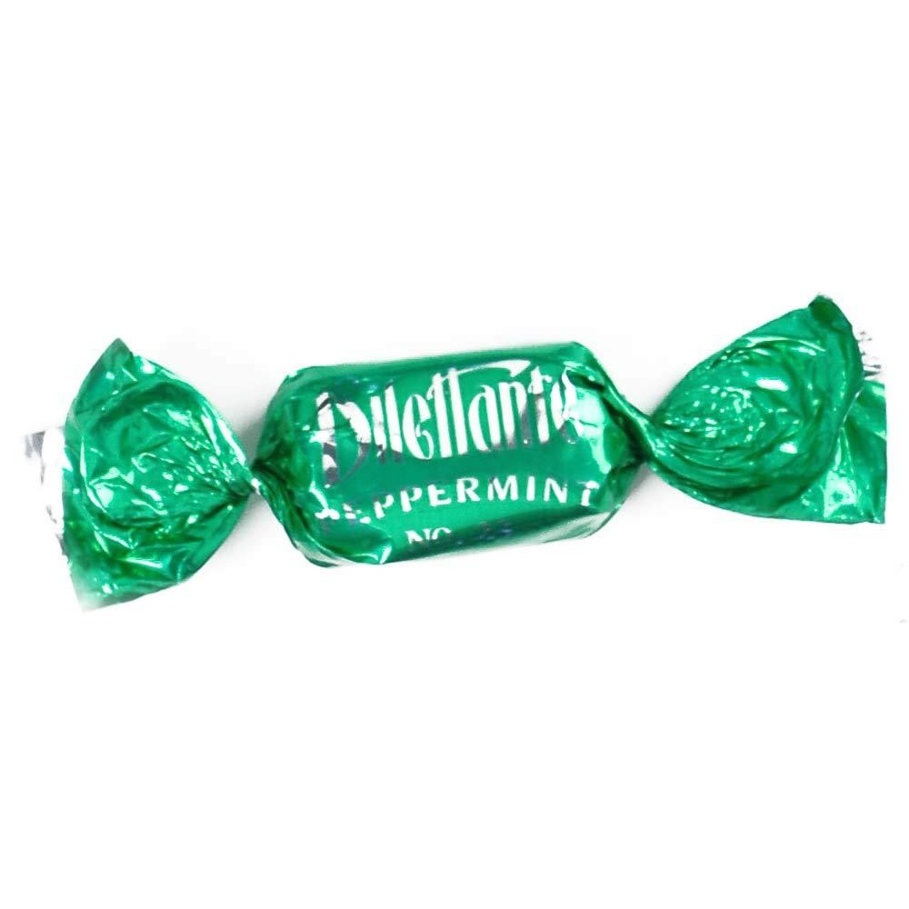Peppermint TruffleCremes in Double Milk Chocolate - 3.5 lb Bulk Bag - by Dilettante