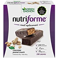 Adrien Gagnon - Nutriforme Meal Replacement Bars, 5 Bars (Chocolate Peanut Crunch)
