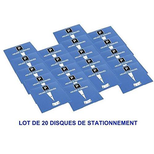 TURBOCAR 20 DISQUES STATIONNEMENT ZONE BLEUE BUN60119320