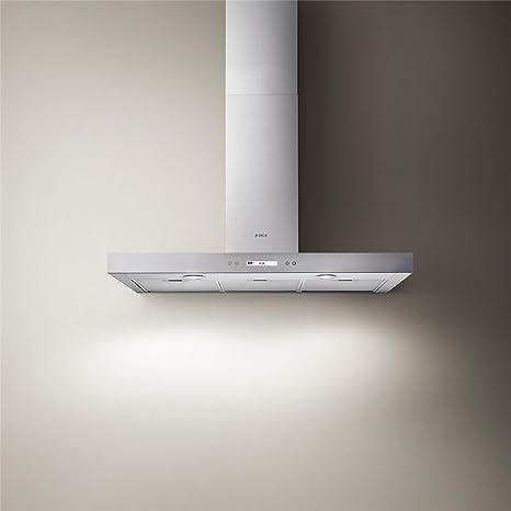 Campana Cocina Elica pared foco Plus Inox 60 cm: Amazon.es: Grandes electrodomésticos