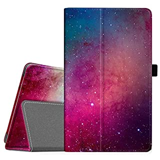 """Famavala Folio Case Cover Compatible with 8"""" Fire HD 8 Tablet Previous Generation [8th / 7th / 6th Generation 2018/2017 / 2016 Release ] (BlueSky)"""