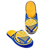 Forever Collectibles Men's Golden State Warriors Big Logo Slippers Size X-Large 13-14
