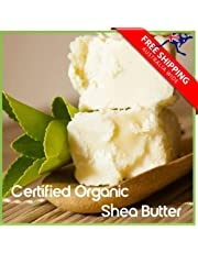 Organic UNREFINED Shea Nut Butter Pure Raw Natural Balms Skincare (1kg) - ThY.BodY
