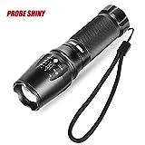 Flashlight,Dafana X800 T6 LED Zoom Flashlight Tactical Torch Zoom Lamp Super Light Shadowhawk