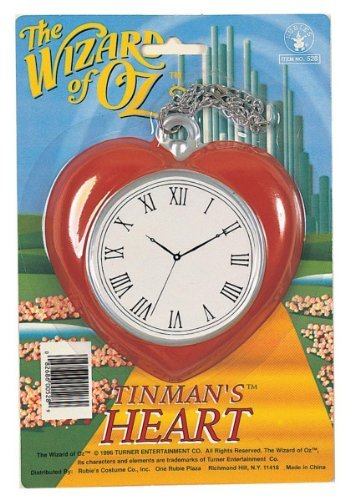 Wizard of Oz Tin Man Clock (Toy) Officially Licensed Wizard of Oz ACCESSORY