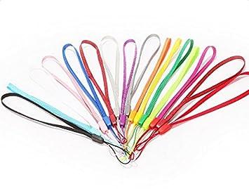 Demarkt 10X Acollador Cordón línea Colgantes Coloridos acollador para Telefono Movil,Llaves,Bolso,Tarjeta(Color al Azar)