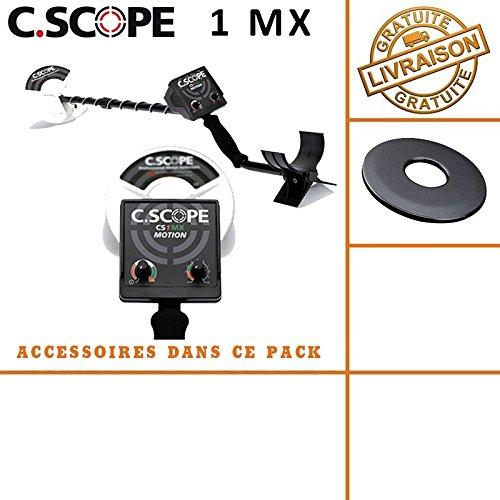 C-scope. Detector de metales CS 1MX con protege disco: Amazon.es: Bricolaje y herramientas