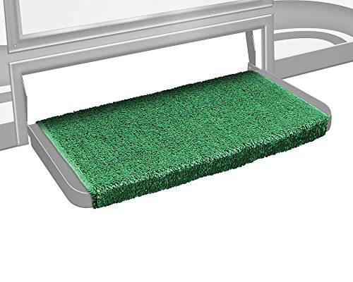Prest-O-Fit 2-0070 Wraparound + Plus RV Step Rug Green 20 In. (0070 Rug)