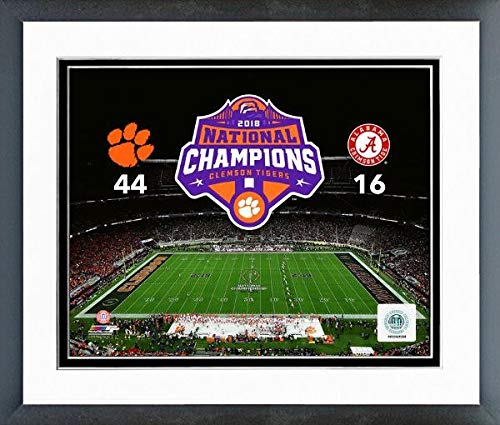 NCAA Clemson Tigers 2018 Football National Champions Photo (Size: 12.5