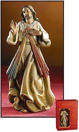 Divine Mercy Jesus Statue Figurine In Gift Box 16 Inch X-Large