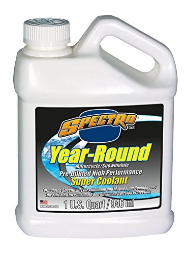 Spectro Performance Oils R.YR-6pk Year Round Super Coolant/Anti-Freeze Premixed, Quart, 6 Pack