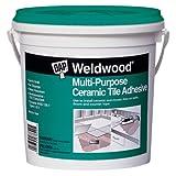 Dap 25190 Weldwood Multi-Purpose Ceramic Tile Adhesive, 1-Quart