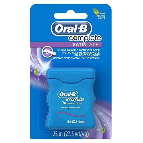 Oral B Satin Dental Tape, 27 yards -  Oral-B Complete, 41060551