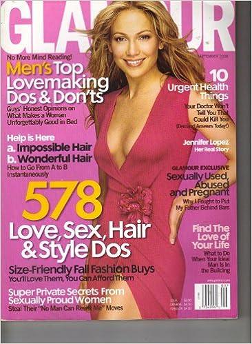 904c46cbf85 Glamour Magazine September 2000 Jennifer Lopez (JLO) Cover
