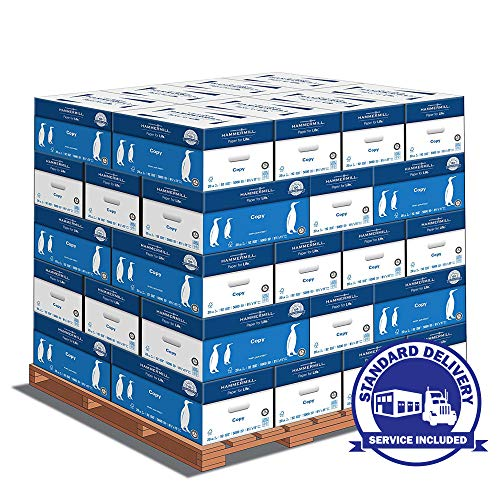 Hammermill Paper, Copy Paper, 20lb, 8.5 x 11, Letter Paper - 1 Pallet / 40 Cartons (STANDARD LOADING DOCK DELIVERY) ()
