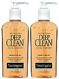 Neutrogena Deep Clean Facial Cleanser, Normal To Oily Skin, 6.7 oz, 2 pk
