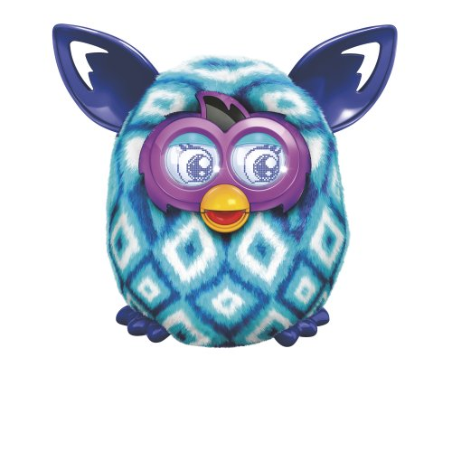 Hasbro Furby Boom Blue Diamonds Plush Toy