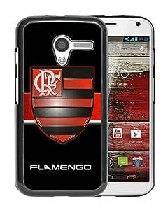 Unique Custom Designed Cover Case For Motorola Moto X With Flamengo Black Phone Case 3