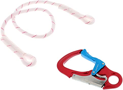 CUTICATE 1m 22KN Seguridad Cuerda Dinámica + Doble Acción ...
