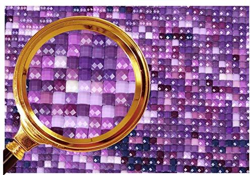 25Cm,Square Drill BBINGK Diamant Malerei 5D DIY Diamant Malerei Voll Dill Platz Landschaft Kreuzstich Diamant Mosaik Diamant Stickerei Dekoration Geschenk,25 Zählbare Sets Basteln, Malen & Nähen