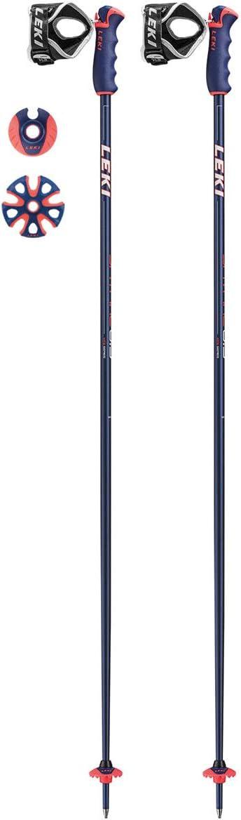 LEKI(レキ) スキーポール 2019 SPITFIRE S ブルーメタリック トリガーS搭載 アルミポール 6436802 レキ 18-19 スピットファイアS  115cm