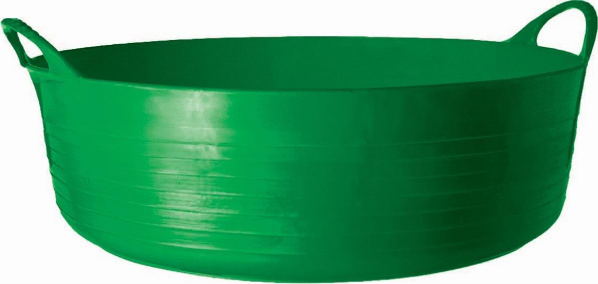 Tubtrugs SP35G Flexible Green Large Shallow 35 Liter/9.2 Gallon Capacity